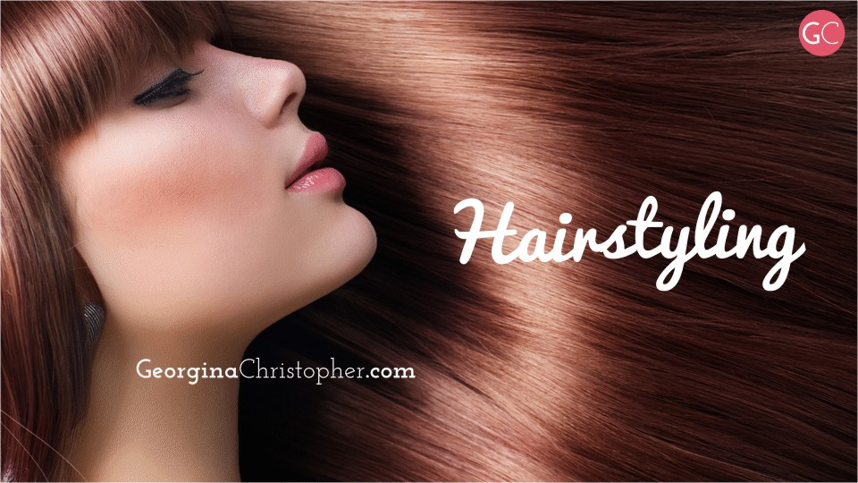 Georgina Christopher Mobile Hairdresser Hairstyling Hair South Wales