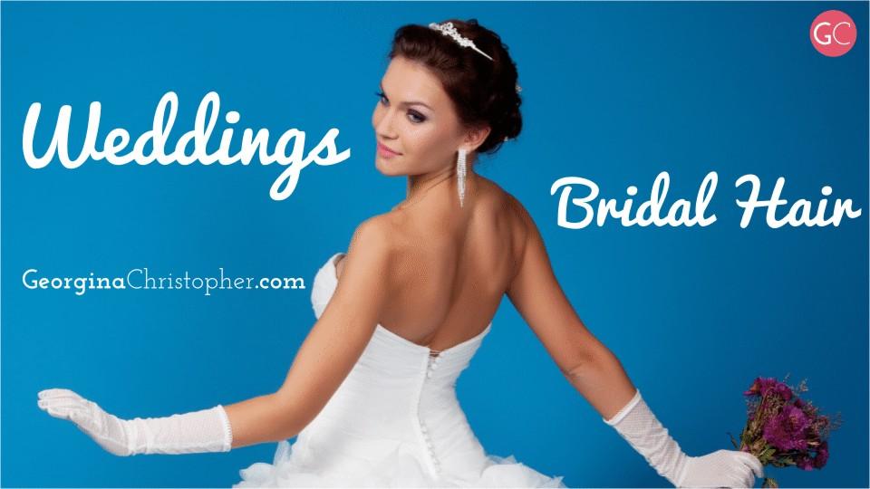 Georgina Christopher Mobile Hairdresser Weddings & Brides Hair South Wales